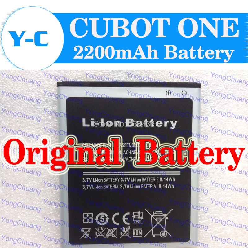 CUBOT ONE Battery Original 2200Mah Universal Batterij Backup Battery For Cubot Ones Smart Phone Free Shipping