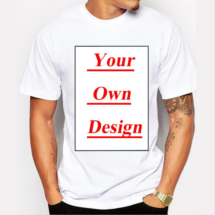 customized men 39 s t shirt print your own design high