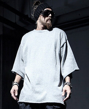 Streetwear Fashion Mens Loose Casual Sweatshirt Black Gray Brand Cotton Sudaderas Hombre Moleton Masculino 2015 Autumn New(China (Mainland))