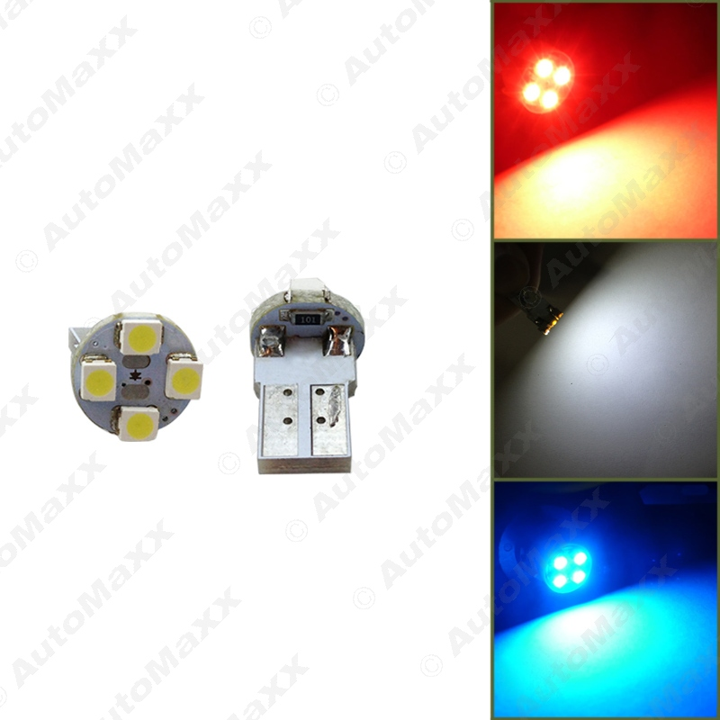 500Pcs White/Blue/Red Electrodeless Plug T10 168 194 1210/3528 4SMD Wedge Car LED Light Bulbs #J-1640<br><br>Aliexpress