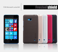 back cover case for Microsoft Lumia 640 NILLKIN Super Frosted Shield for Lumia 640 with free screen protector+retailed package