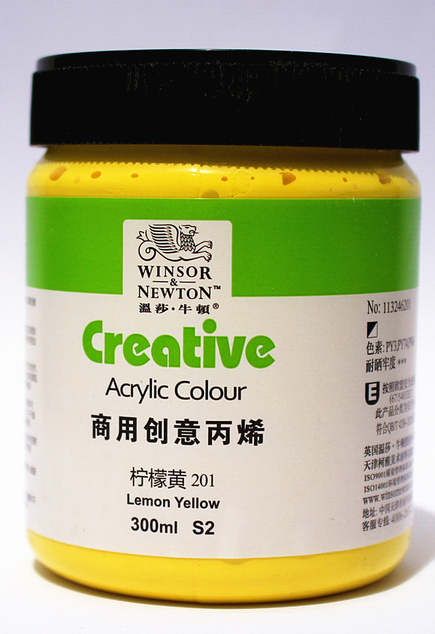 300ml Bottled creative acrylic  color Windsor&amp;Newton acrylic painting pigments special for artist<br><br>Aliexpress