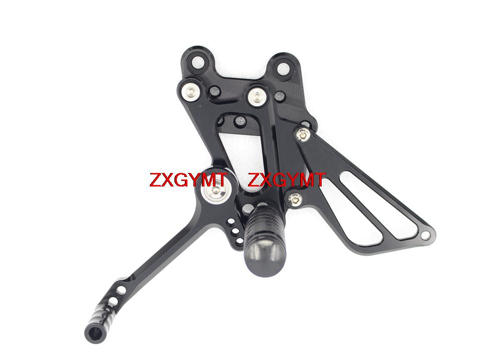 Footrest Foot Rest Pegs Rearset Rear Set fit HONDA Cbr600rr Cbr 600rr Cbr 600 RR 2007 - 2015 2014 2013 2012 2011 2010