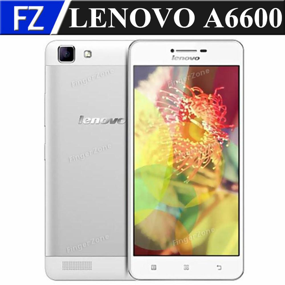 "Original WHITE Lenovo A6600 4G LTE FDD 5.0"" HD PXA1928 Quad Core Android 4.4 13MP 1GB RAM 8GB ROM smartphone GPS dual sim(China (Mainland))"