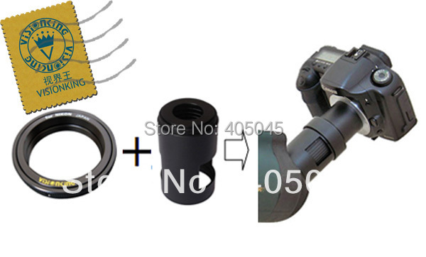 Visionking Spotting Scope Camera Adapter Tube And Conversion Ring For Nikon Canon Sony DSLR Camera Adapter Tube&Conversion Rings