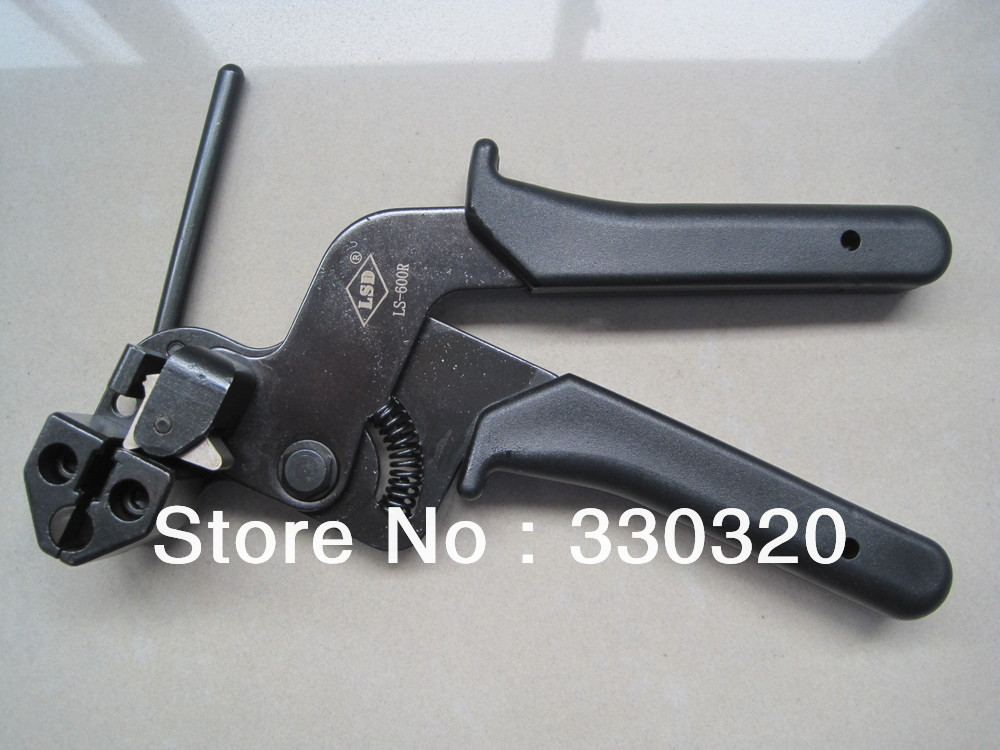 Stainless Steel Cable Tie Tools/gun/Cable Assembly Tools LS-600R(China (Mainland))