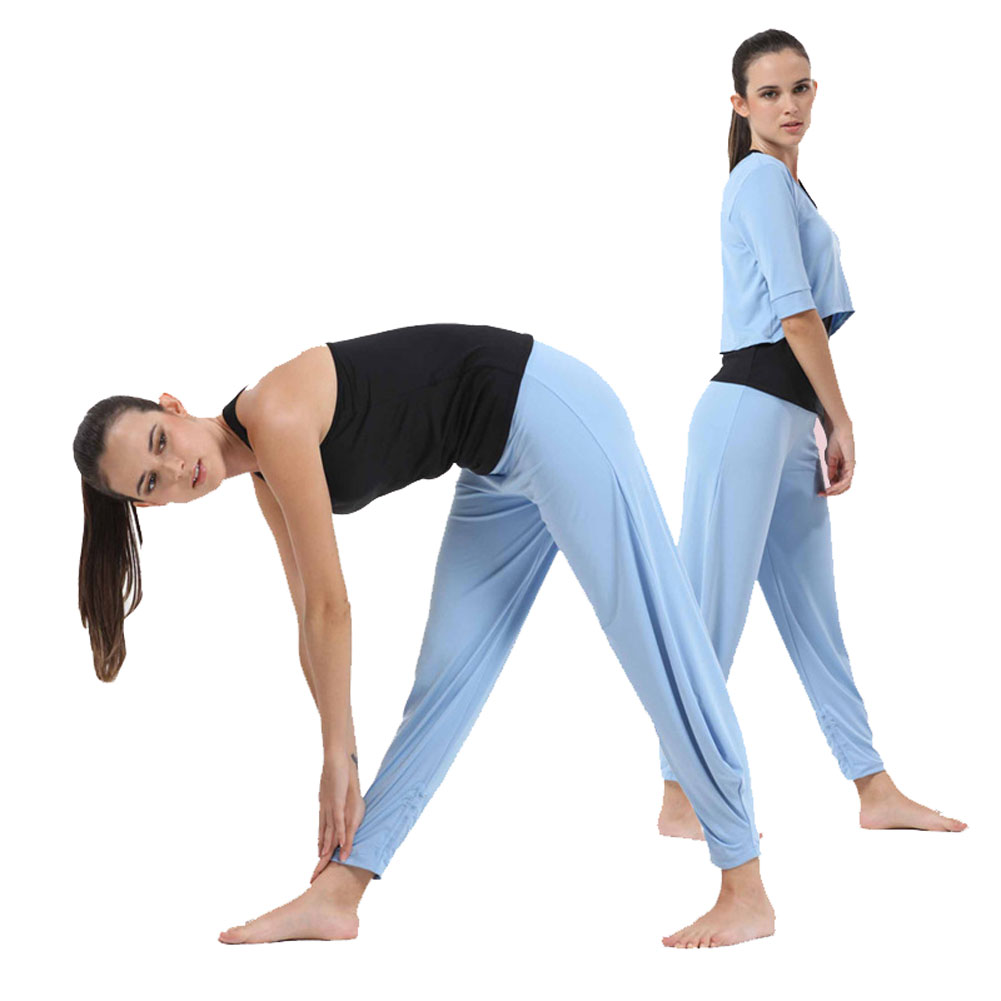 Buy demarkt tight yoga clothes half Yoga shirts with sleeves