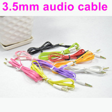 3.5mm AUX AUXILIARY CORD Male to Male Stereo Audio Cable for phone/PC for iPod MP3 free shipping(China (Mainland))