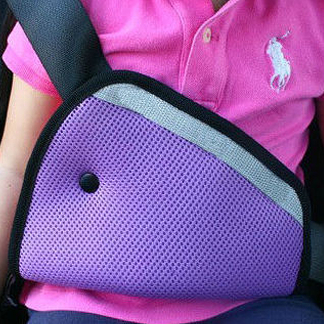 Breathable Baby Kid car safety belt adjust device Child Safety Cover Shoulder Harness Strap Adjuster Kids Seat Belt Clips Hot