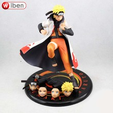 Anime Naruto Uzumaki Naruto PVC Action Figure Collection Model Toy Figure Doll Children Gift ACGN Brinquedos 18cm New