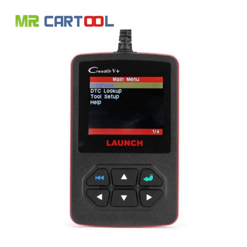 [LAUNCH Distributor] 100% Original Launch Creader V+ OBD2 code scanner CReader V Plus Support Multi-Language update online FREE(Hong Kong)