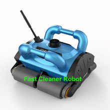 Remote Control Wall Climbing Function Automatic Swimming Pool Cleaner Robot 200 with Work Capacity for 100-300m2 Pool(China (Mainland))