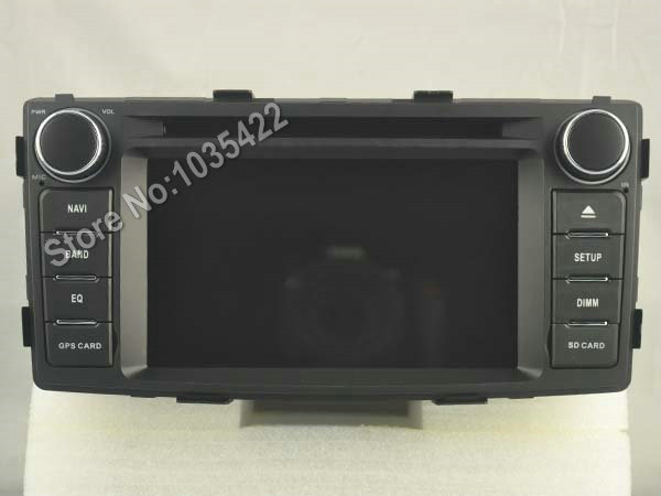 Android 6.0 CAR Audio DVD player FOR TOYOTA HILUX 2012 gps Multimedia head device unit receiver BT WIFI