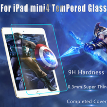 0.3mm Premium Tempered Glass Screen Protector Toughened Protective Film For iPad Mini 4 Free Shipping