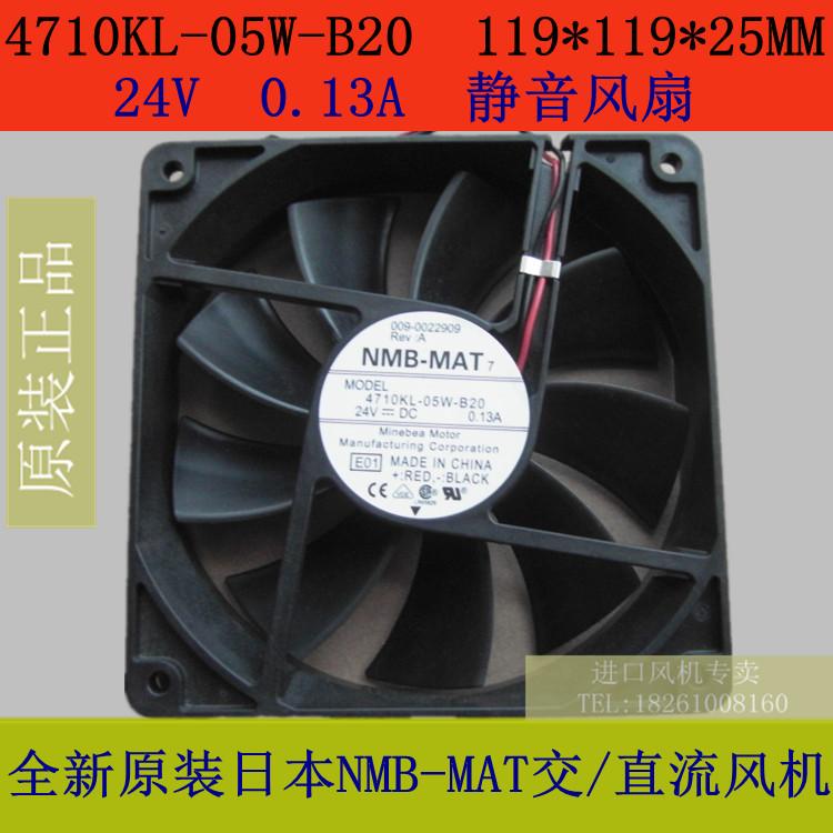 Free Shipping!New Original NMB-MAT fan 4710KL-05W-B20 119 * 119 * 25MM 24V silent fan<br><br>Aliexpress