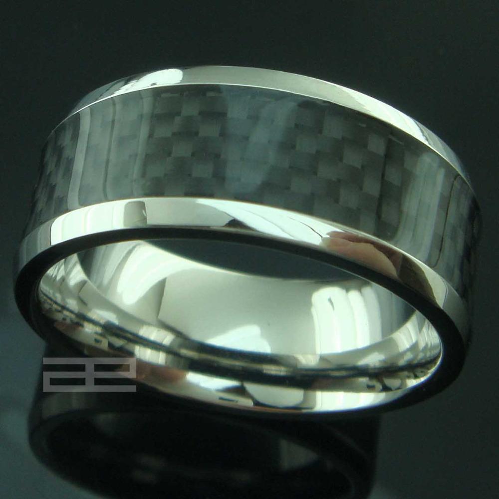 Mens-Hochzeits-Ring-Finger-