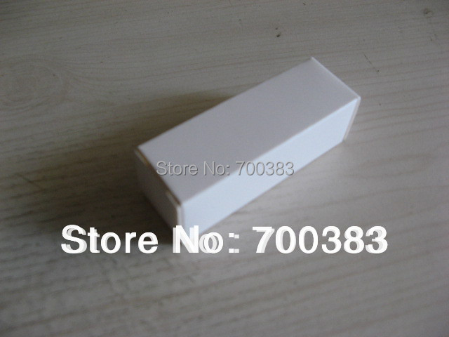 5 PCS Paper packaging Electronic Product Packaging The White USB Box White Paper Gift Box Size 2.37 x 0.79 x 0.79 inch(China (Mainland))