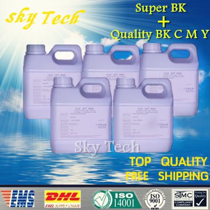 +1L Super Black Sublimation , Sublimation ink suit for Epson printer , 1LPer color , 5 L total  , for T-shirt ,phone shell, cups
