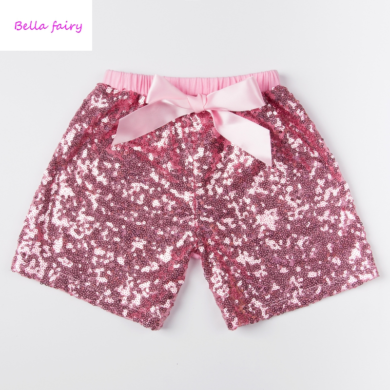baby girls sequin shorts baby boys bling shorts kids short pant fit for 1-6 years sequin shorts for stage