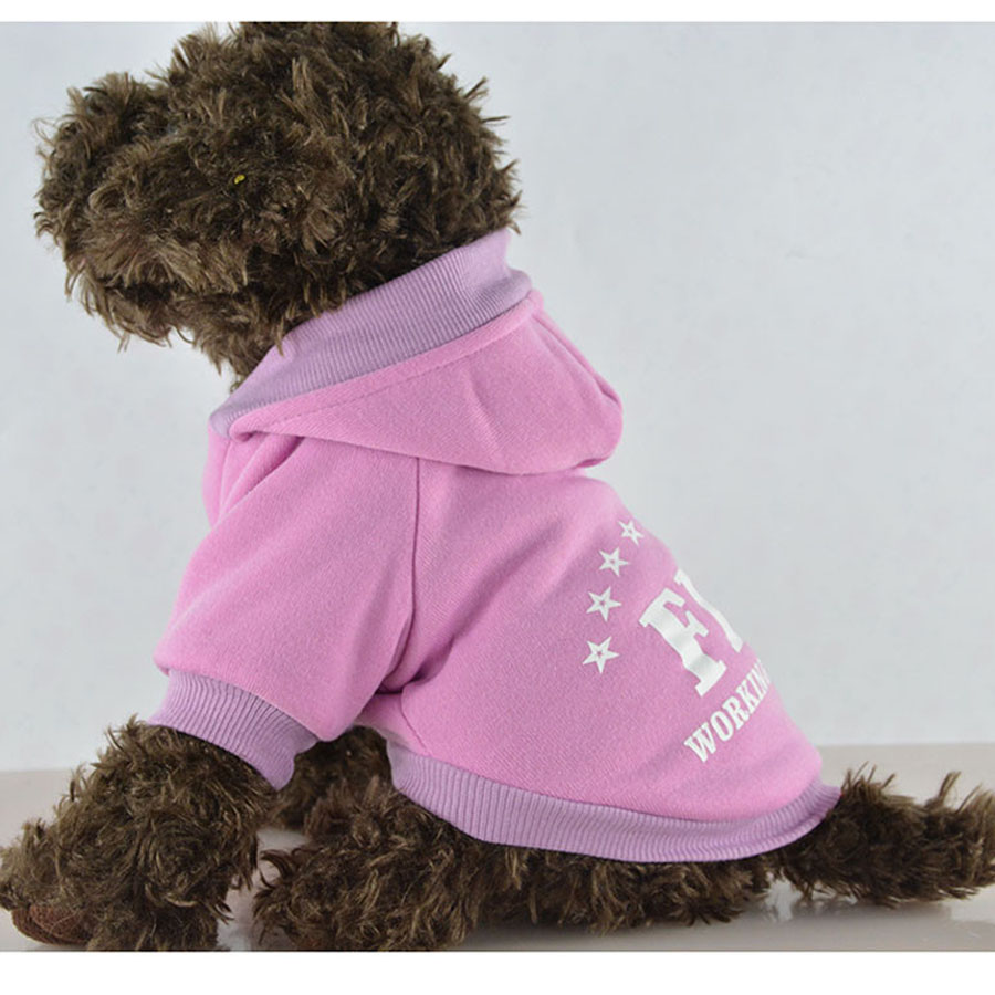 Pet Dog Clothes Pets Coats Soft Cotton Puppy FBI Clothes for Dogs New Spring Autumn Winter Products 5 colors(China (Mainland))