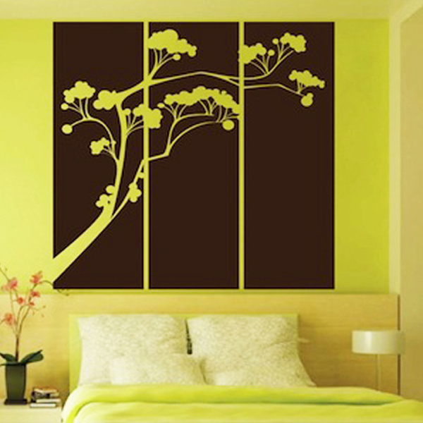 Popsicle Tree Panel Vinyl Stickers Vintage Home Decor Family Wall Decals Quotes Murals Wall