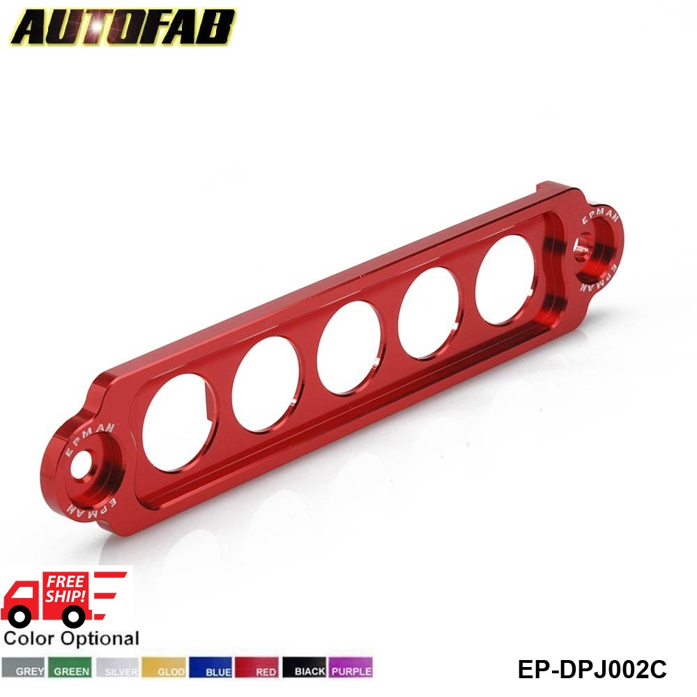 AUTOFAB-ALUMINUM BATTERY TIE DOWN FOR HONDA Civic SI 02-05 DEFAULT AF-DPJ002C(China (Mainland))