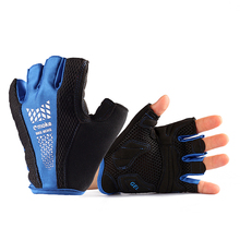 Free Shipping Outdoor Bicycle Mountain Bike Cycling Riding Antiskid Gel Half Finger Gloves New