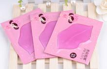 Lip Plumper Crystal Collagen Lip Mask Pads Moisture Essence Anti Ageing Wrinkle Patch Pad Gel Full