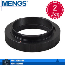 Buy MENGS 2Pcs per pack T2-PK Lens Mount Adapter Ring Aluminum Material T2 T Lens Pentax PK Camera Body, 14150000601 for $5.99 in AliExpress store
