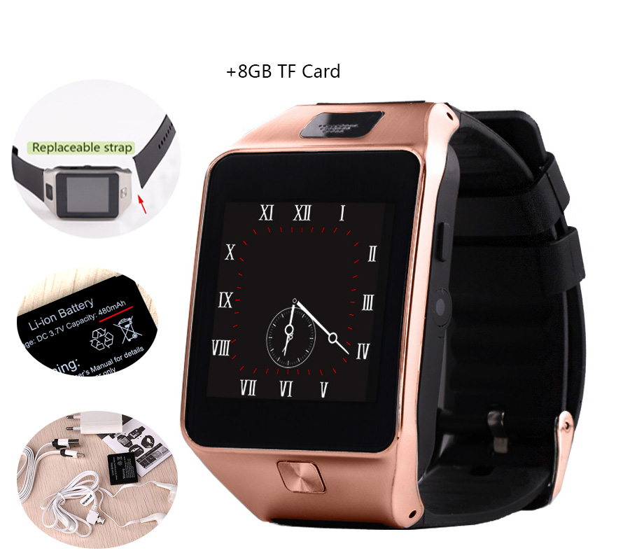 Bluetooth Smart Watches Support SIM Card mobile phone Watches with video player FM radio fitness track for android phone(China (Mainland))
