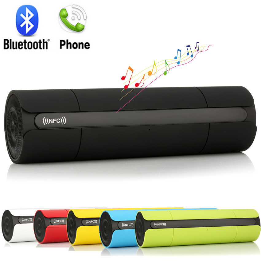 HIFI Bluetooth Speaker Wireless Stereo High Quality NFC FM Portable Loudspeakers Bluetooth Boombox MP3 Player Super Bass(China (Mainland))