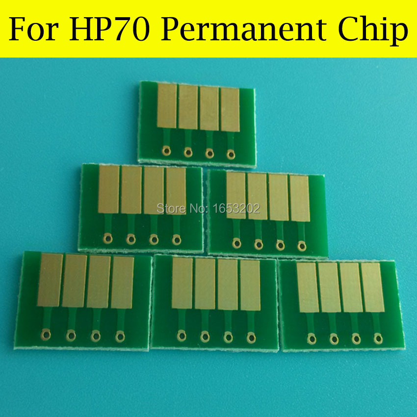 High quality cartridge chip for HP 70 compatible designjet Z5200 Z2100 Z3100 with auto resetter chips