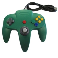 Woopower Hot Wired USB Game Wired Joystick Controller Gamepad For Nintendo For Gamecube N64 Style PC Mac