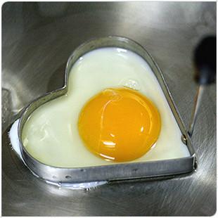 Stainless Steel Heart Omelette Mold Egg Mold Heart Love Ring Cooking Tools Omelette Device (KA-01)