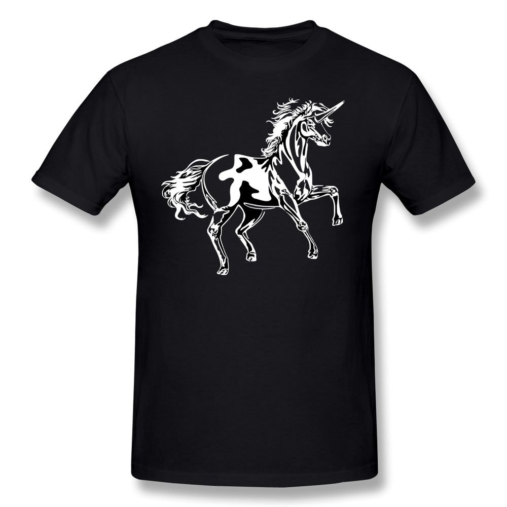 Custom short sleeve men t shirt unicorn funny couples t for Custom t shirts under 10