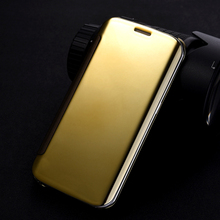 Buy Smart Case Samsung Galaxy A5 2017 A520 A520F A720 Clear View Mirror Flip Cover Samsung Galaxy S7 S7 Edge Leather Case for $4.82 in AliExpress store