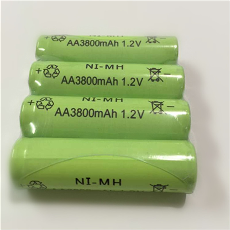 Гаджет  4pc a lot Ni-MH 3800mAh AA Batteries 1.2V AA Rechargeable Battery NI-MH battery for camera,toys etc-PKCELL None Бытовая электроника
