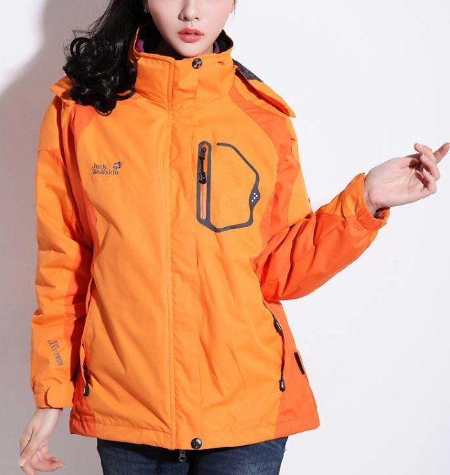 2013 Fashion Women's Outdoor Waterproof Windproof Jacket 2in1 Coat /4Color - Online Store 214194 store