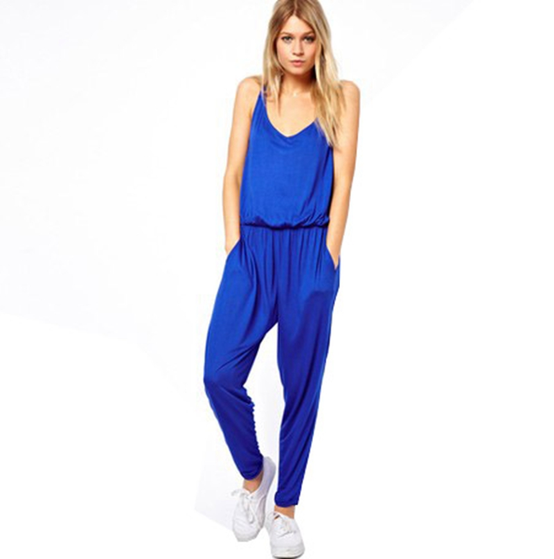 Innovative Style Women Loose Casual Jumpsuits Long Sleeve Sport Jumpsuits