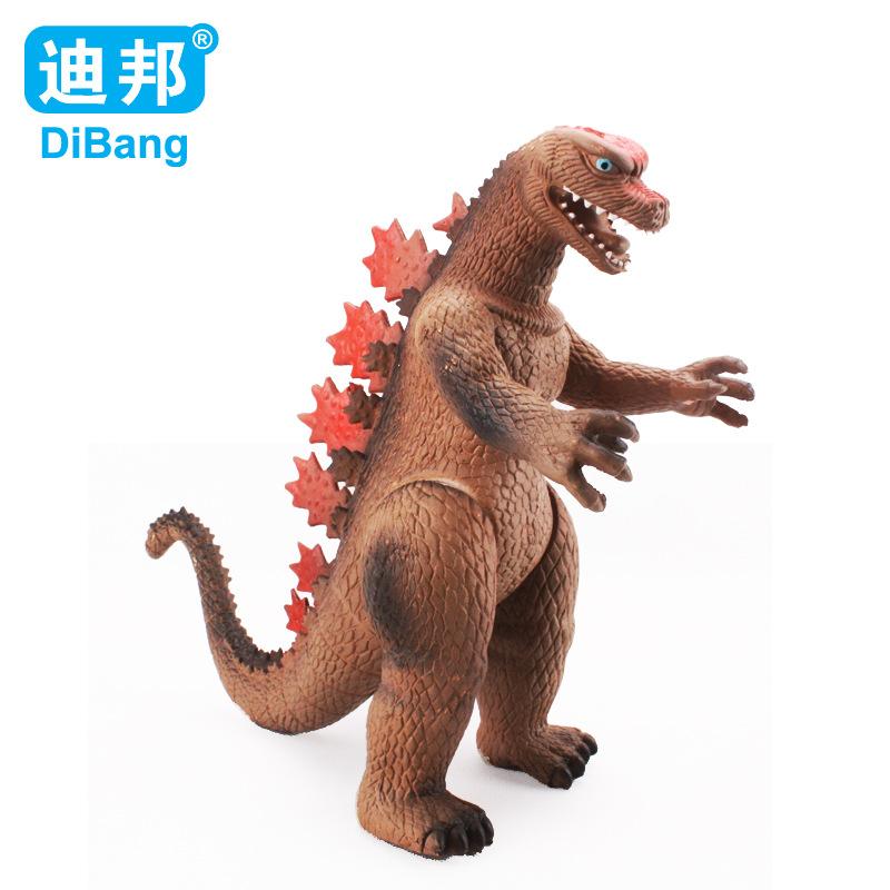 Godzilla cartoon toys 12-inch monster dinosaur model toys PVC Action Figure Model Classic Toys Christmas gift Free shipping(China (Mainland))