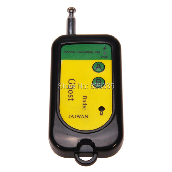 Portable Anti-Detector Signal Bug RF Detector Camera Finder GSM Device 100 -2400Mhz(China (Mainland))