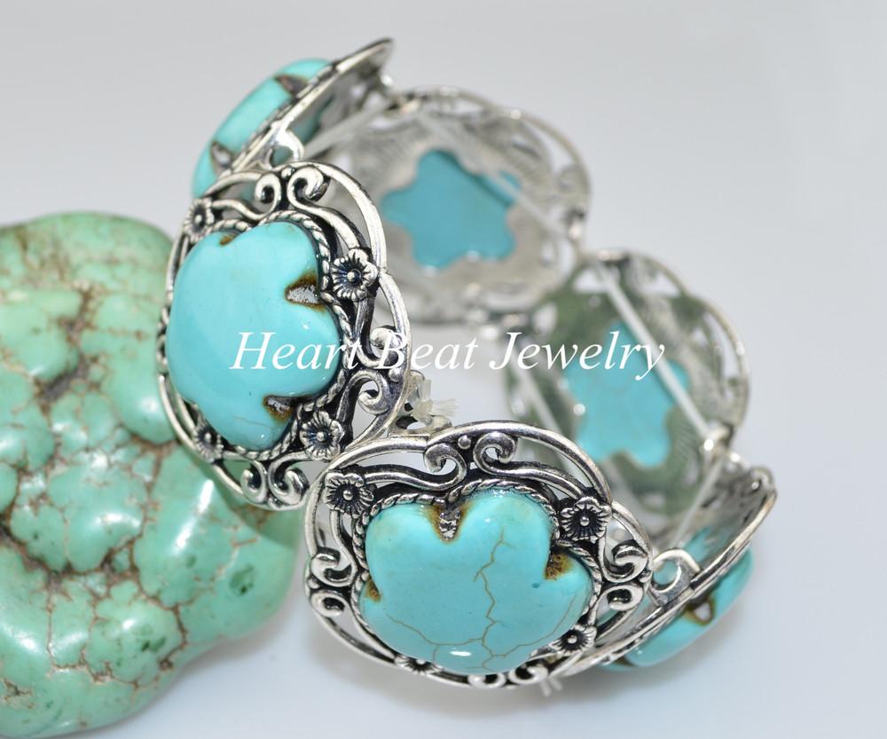 ,, Steady Turquoise Bracelet - HeartBeat Online shop store