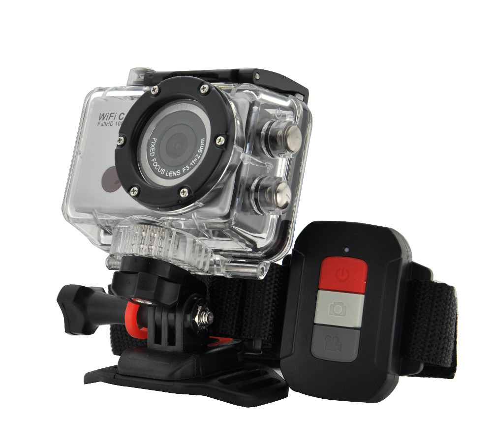 Full HD 1080P Sports Go Pro hero 3 Style Camera With WIFI ...
