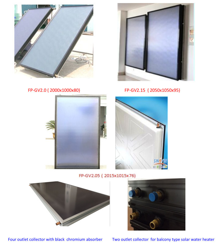 High efficiency Flat Plate Solar Collector /Solar Collectors Project(China (Mainland))