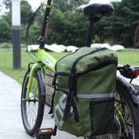 Waterproof 15L Bike Side Tail Trunk Bag Bicycle Cycling Rear Seat Carrier New Arrival