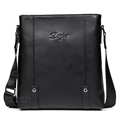 Trendy England Style high end real cow leather men messenger bag casual business brand men bag