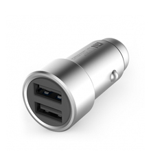 Original Xiaomi Car Charger Dual USB 5V/3.6A Volt Quick Charge Full Metal Competiable with Most Phones Tablet PC(China (Mainland))