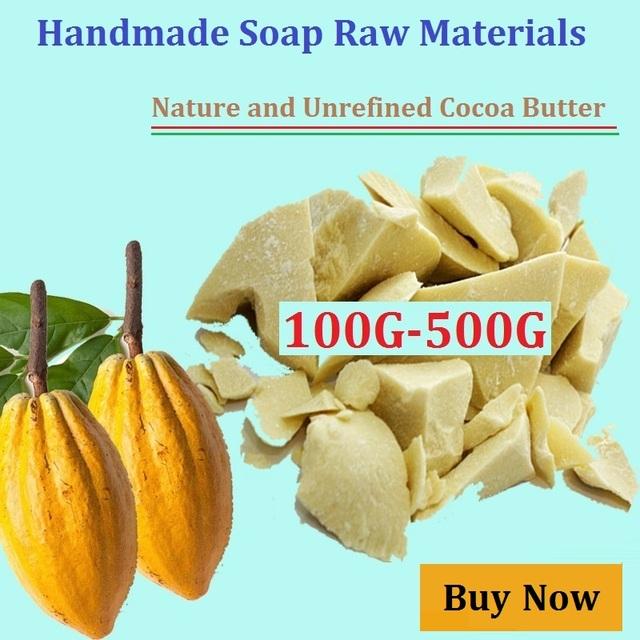 Чистый Какао-масло 50 Г-500 Г Унций Сырого Нерафинированного Какао-масло Базового Масла Природные ОРГАНИЧЕСКИЕ 2017NEW Эфирное Масло