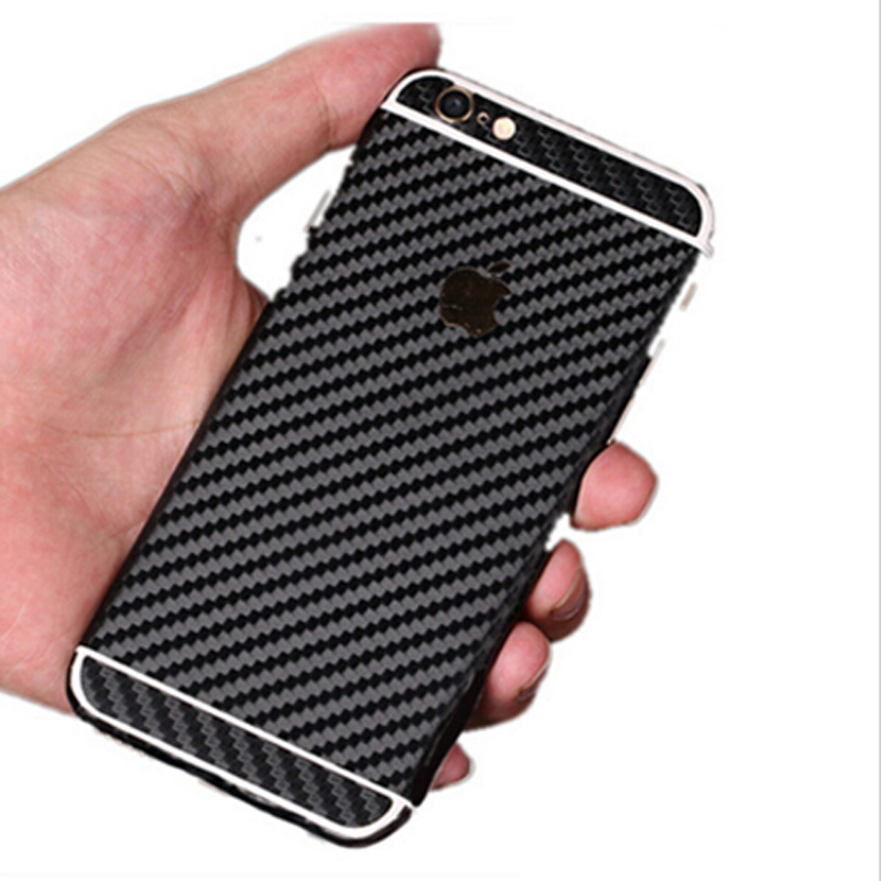 Durable 3D Carbon Fiber Full Body Back Film Sticker Case Cover Wrap Skin For Apple iPhone 5 5s(China (Mainland))