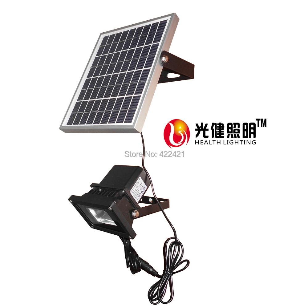 10w solar led light switch dimmimg 3w solar panel camping. Black Bedroom Furniture Sets. Home Design Ideas
